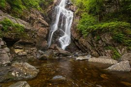 Hiking Trails in Maine with Waterfalls