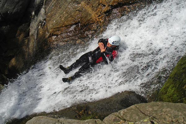 What is Canyoning