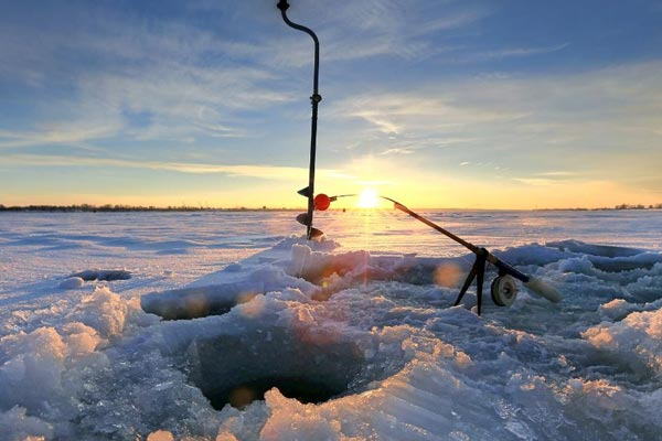 best ice fishing in the world