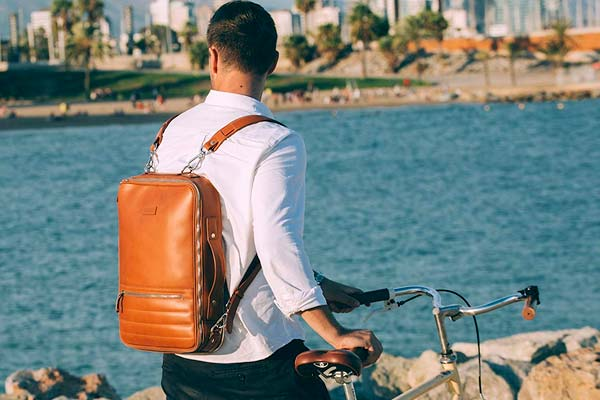 Temporary Forevers 48-Hour Switch Leather Bag