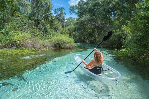 best kayaking in florida